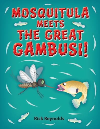 Mosquitula! Meets the Great Gambusi! book cover