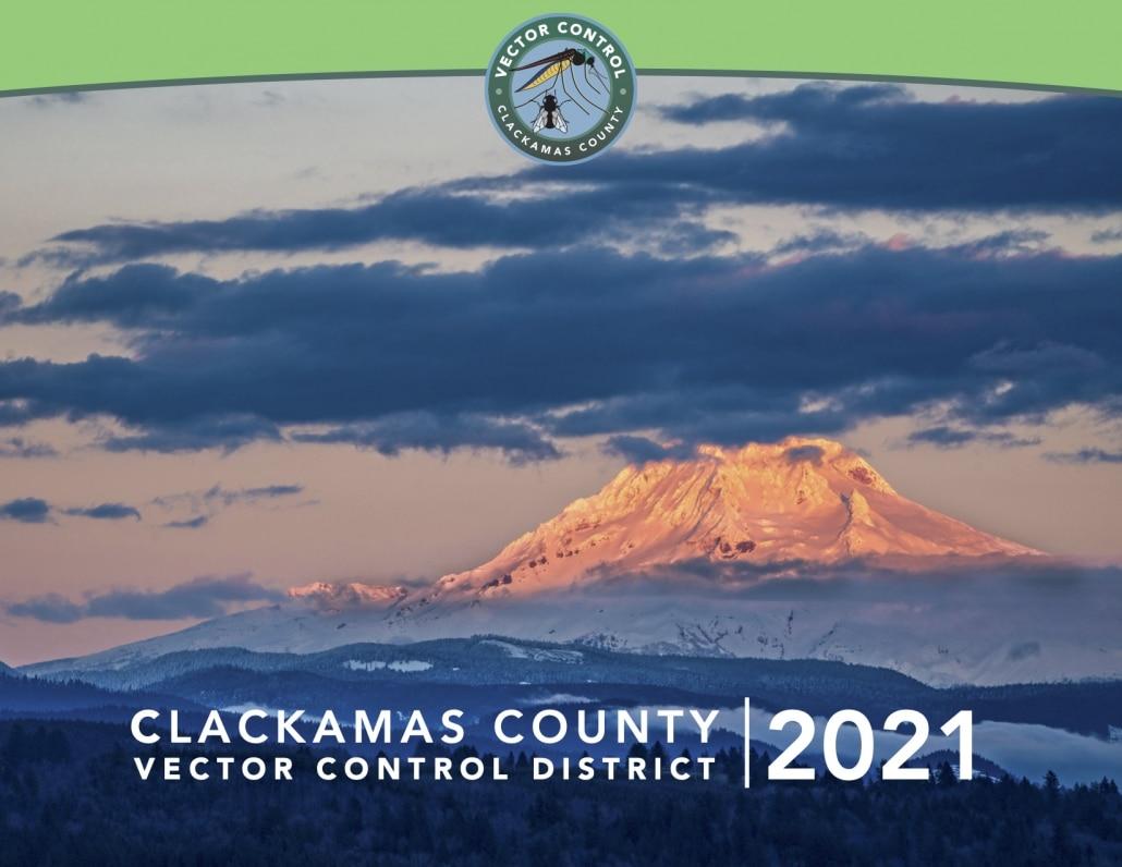 2021 Clackamas County Vector Control District Calendar